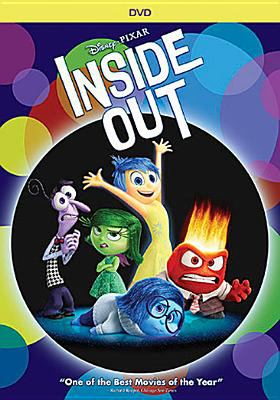 Image of the DVD of the movie Inside Out showing animated characters
