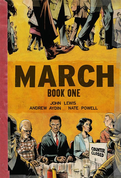 March. 01. by Lewis, Aydin and Powel book cover