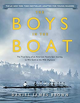 Boys in the Boat by Brown book cover