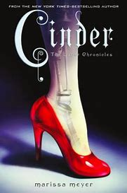 Cinder by Meyer book cover