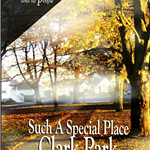 Scan of a cover for a DVD case. The image shows a path going diagonally through a sunny park at fall