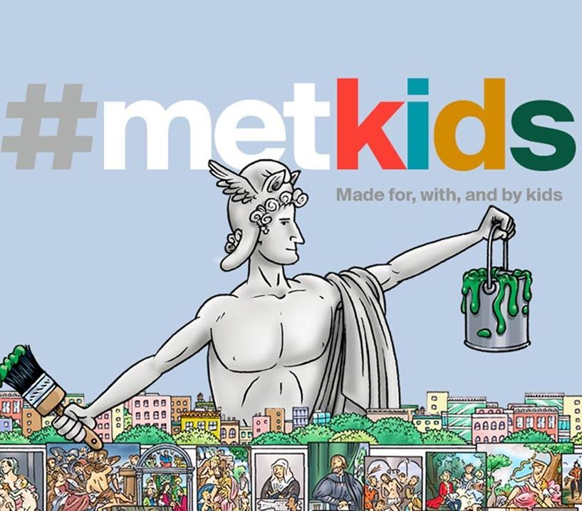 Link to The Metropolitan Museum of Art for Kids website. Opens in new window