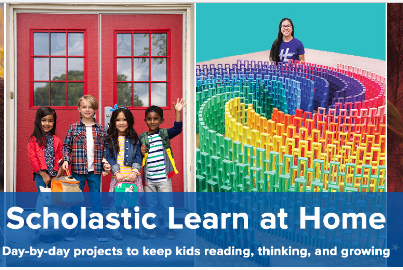 Scholastic learn at home Opens in new window